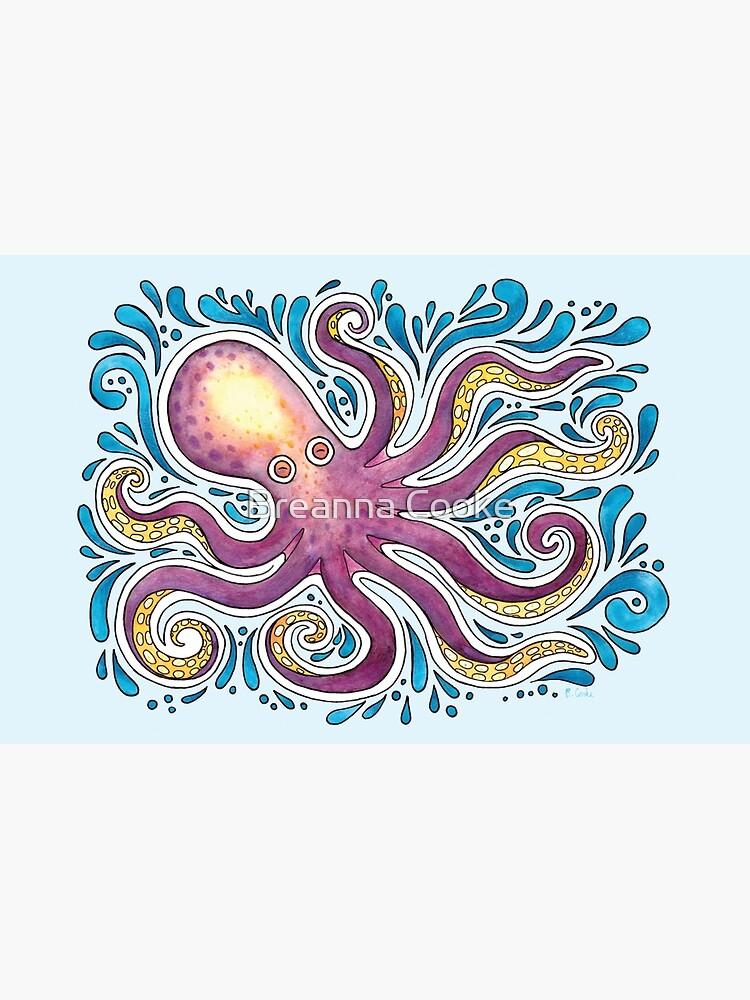 Purple Octopus by breannacooke