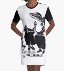 Tweedles Graphic T-Shirt Dress