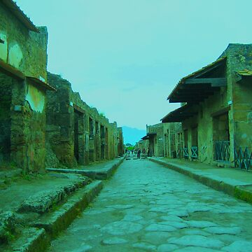 Pompeii yesterday by Jouer