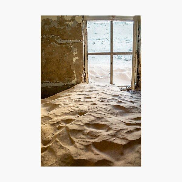 Room of sand. Photographic Print