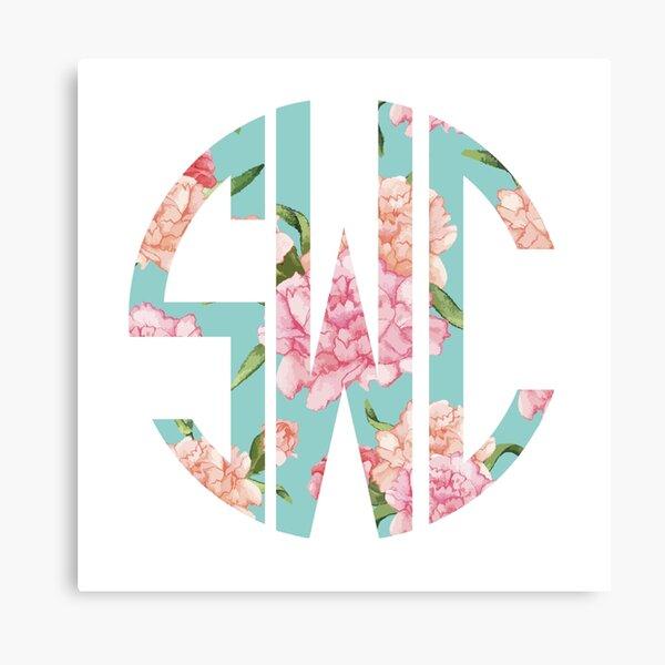 SWC monogram Canvas Print