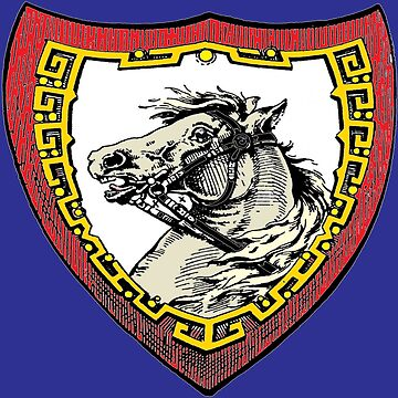 Ediemagic Vintage Horse (colorized) by Ediemagic