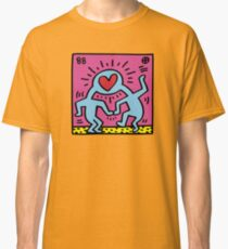 Keith Haring Love Pop Art 1988 Classic T-Shirt