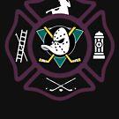 Anaheim Fire - Mighty Ducks Style by ianscott76