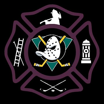 Anaheim Fire - Mighty Ducks Style by ianscott76