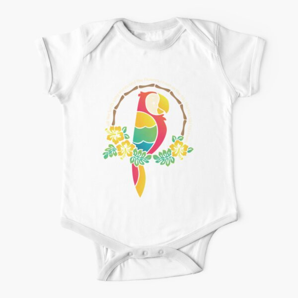 Tiki Room of Enchantment Short Sleeve Baby One-Piece