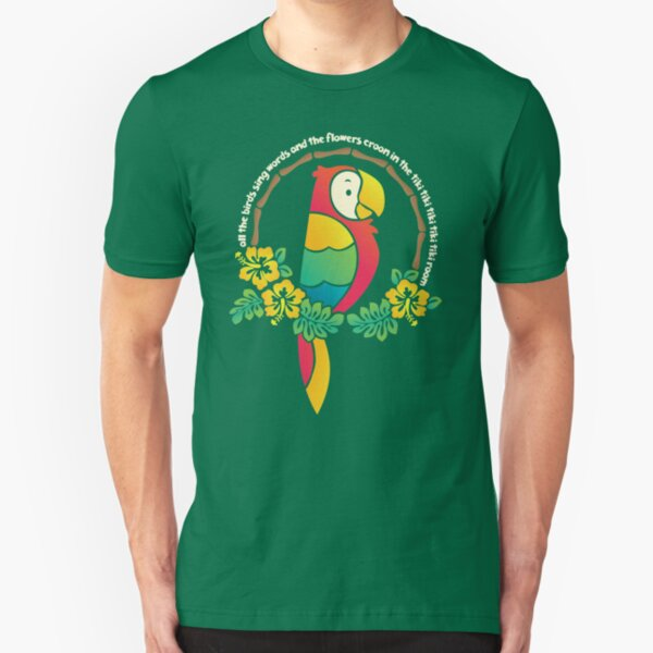 Tiki Room of Enchantment Slim Fit T-Shirt