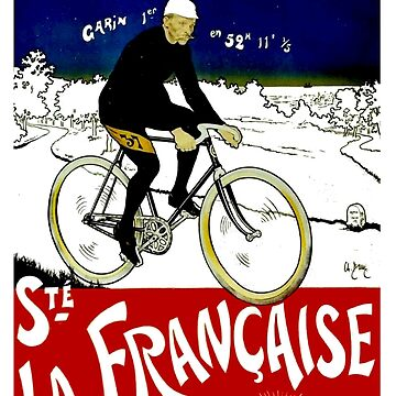 TOUR DE FRANCE; Vintage Bicycle Race Print by posterbobs