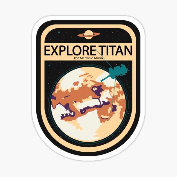 Explore Titan Sticker