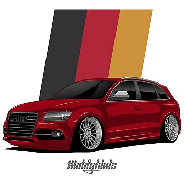 Sport Q5 (red) by MotorPrints