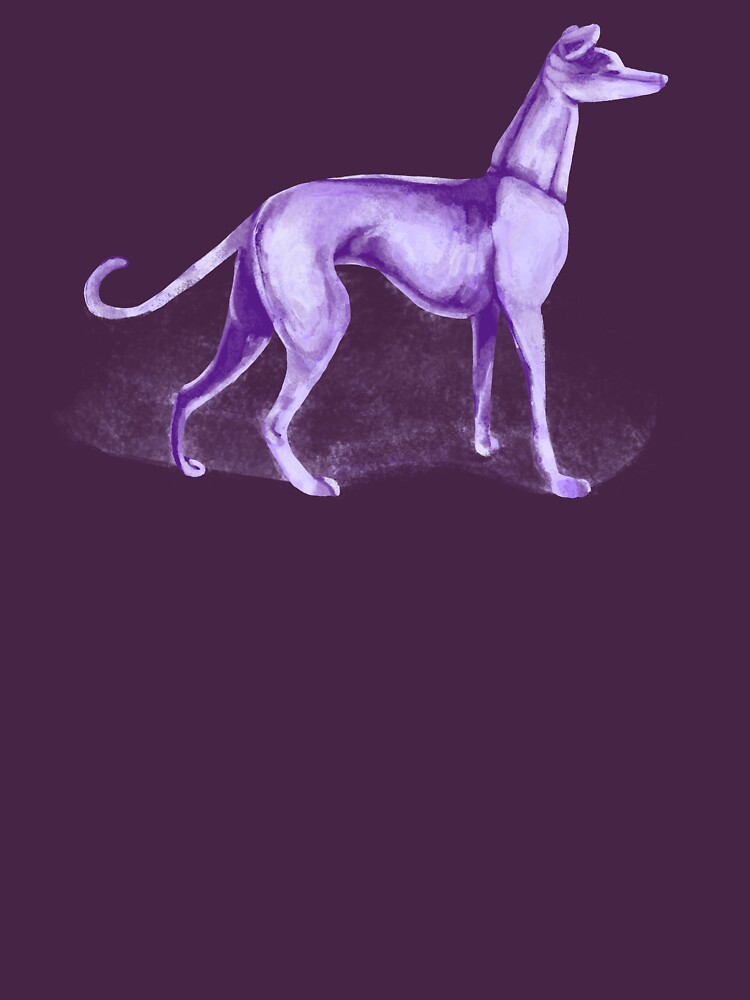 That One Purple Dog Shirt (Wordless) | Unisex T-Shirt
