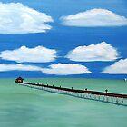 Long Pier Out by WhiteDove Studio kj gordon