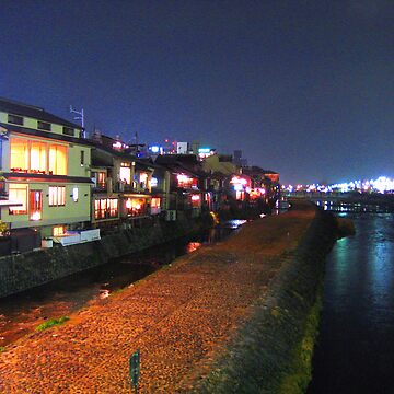 Kyoto river by Jouer