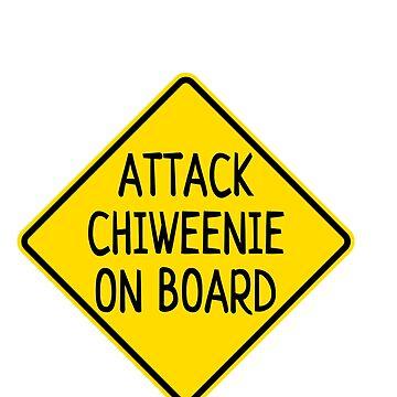 Attack Chiweenie on board by undainty