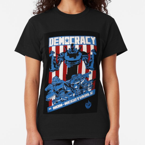 Democracy is non-negotiable Classic T-Shirt