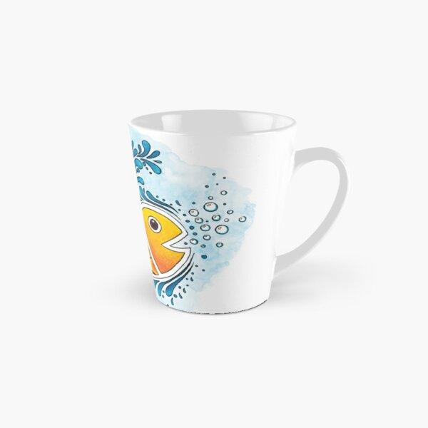 Orange Fish Tall Mug