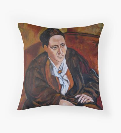 Playing Picasso Throw Pillow