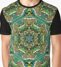 Green Terrarium Kaleidoscope Graphic T-Shirt