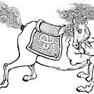 Dynasty Horse by redqueenself