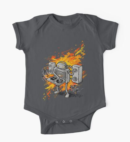 Robot DJ is in the House! Kids Clothes