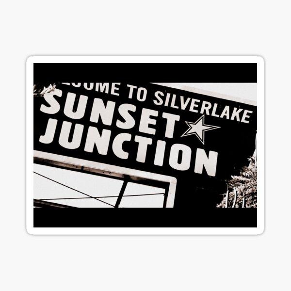 Sunset Junction Sticker