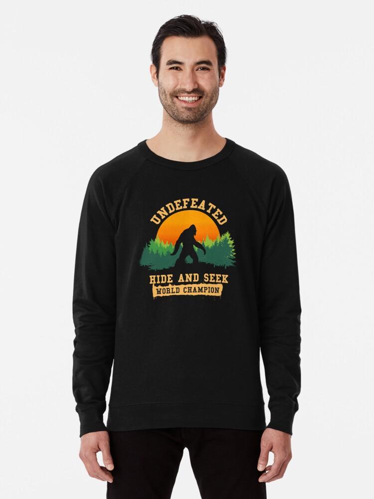 6302b63d Undefeated Hide and Seek World Champion T shirt Bigfoot T shirt Lightweight  Sweatshirt