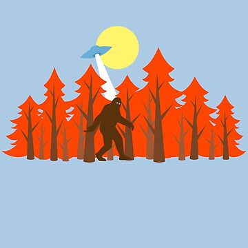 Strange Forest by JoeConde