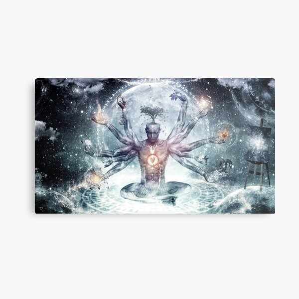 The Neverending Dreamer Metal Print