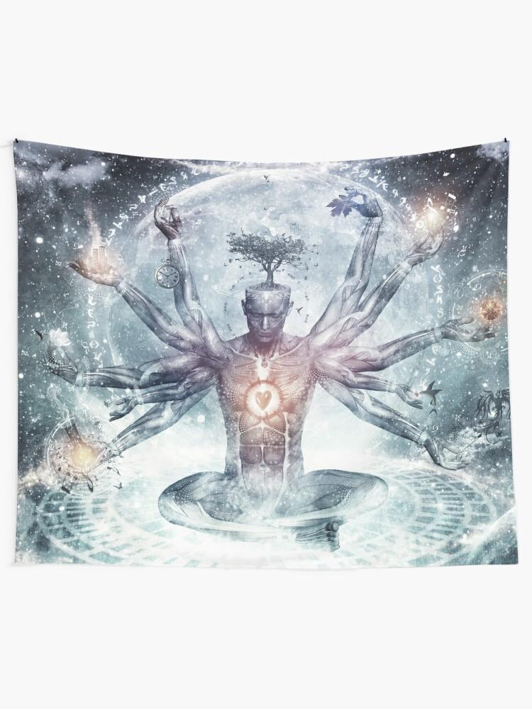 Alternate view of The Neverending Dreamer Tapestry