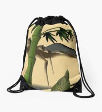 Bamboo with Mountains Drawstring Bag