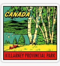 Killarney Provincial Park Ontario Vintage Travel Decal Sticker