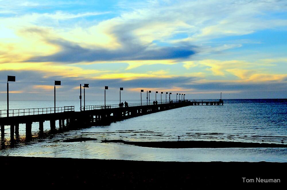 Frankston Pier by Tom Newman