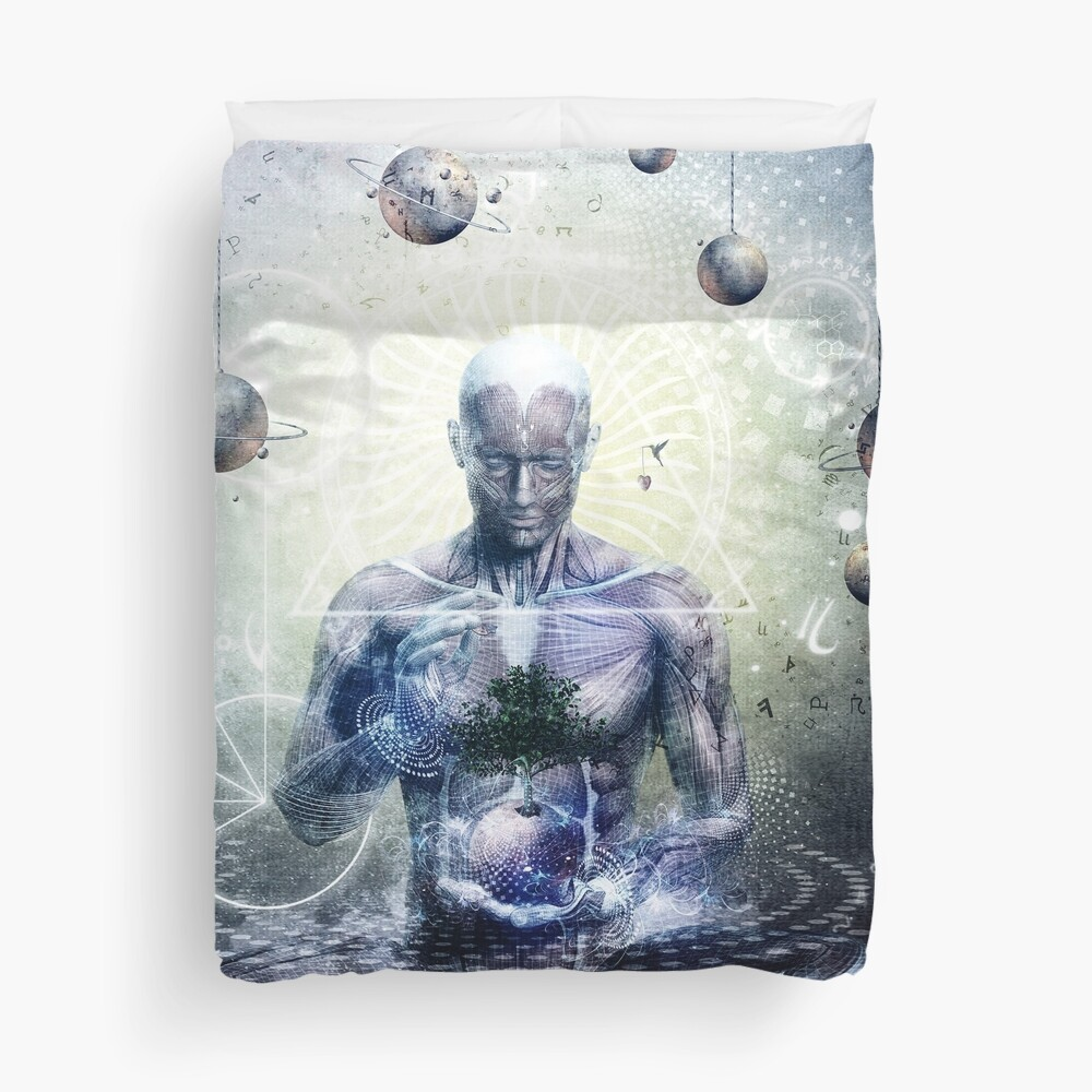 Experience So Lucid, Discovery So Clear Duvet Cover