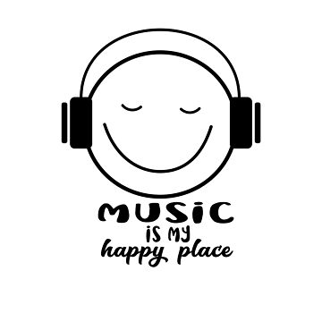 Music is my Happy Place by jitterfly