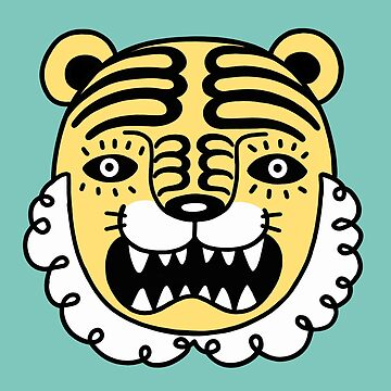 tiger pattern by RYURAKUDO