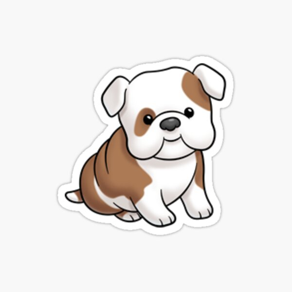 Cute Frenchie Sticker, French Bulldog Sticker
