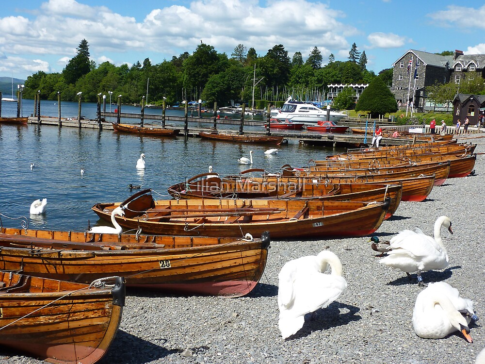 BOWNESS  ROWING BOATS  by Lilian Marshall