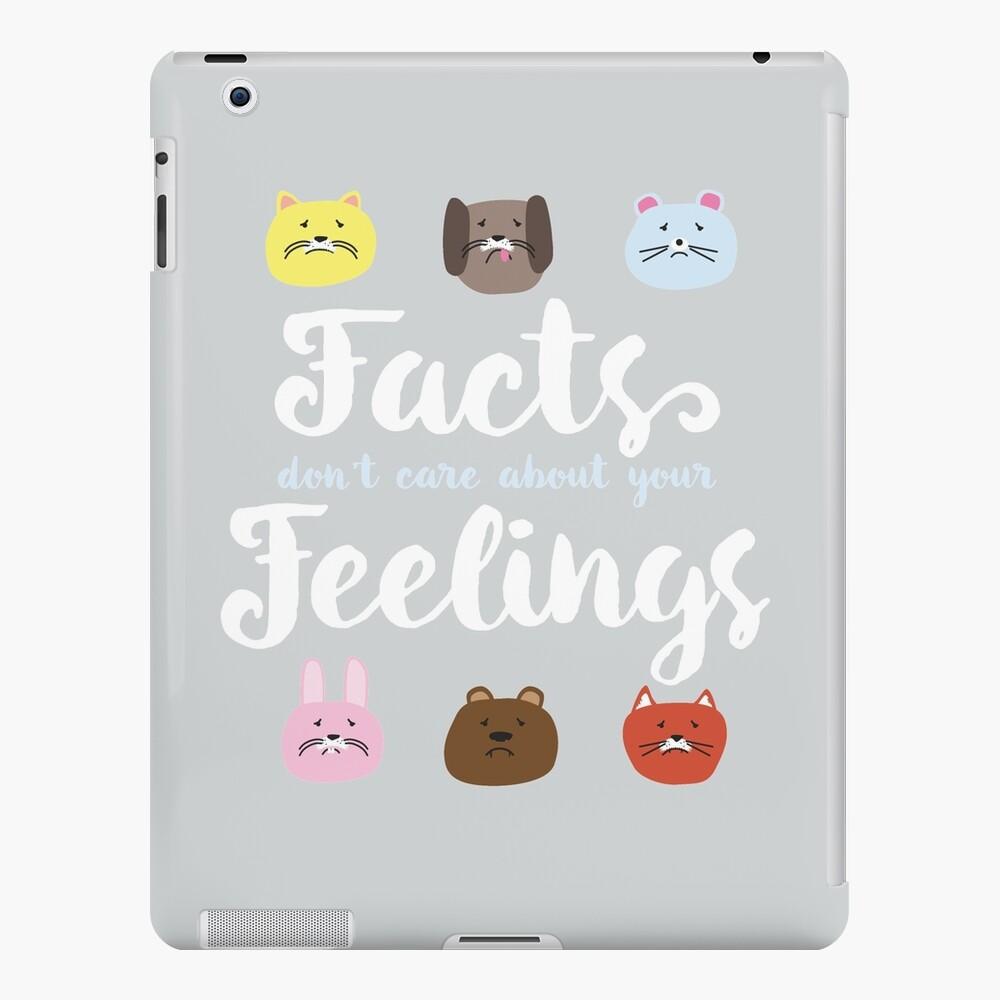 """Ben Shapiro """"Los hechos no se preocupan por tus sentimientos"""" Funda y vinilo para iPad"""