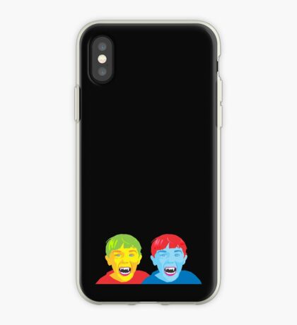 Vampire Twins iPhone Case