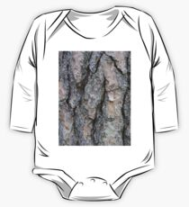 Photo wood pattern tree One Piece - Long Sleeve