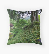 Sunken Garden No.4 Throw Pillow