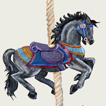 Carousel Horse by Creatividad
