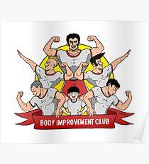 Body Verbesserung Club! Poster