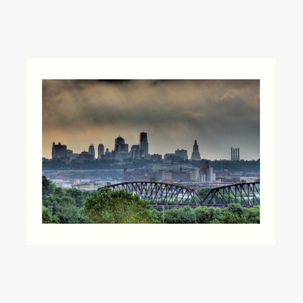 Kansas City (MO) Skyline Art Print