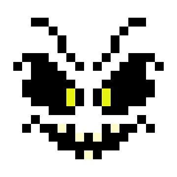 Pixel Ghost Face by gkillerb