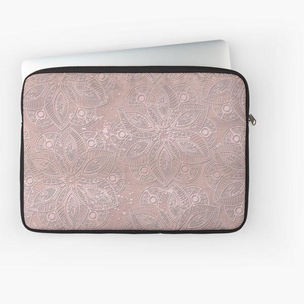 Mandala Rosegold Laptop Sleeve