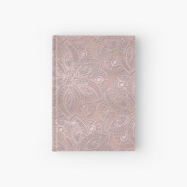 Mandala Rosegold Hardcover Journal