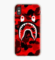 red bape fres iPhone Case
