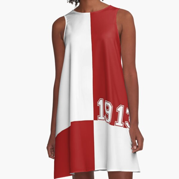 The Crimson Block by HeavenNezCree A-Line Dress