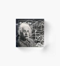 Bloque acrílico Albert Einstein